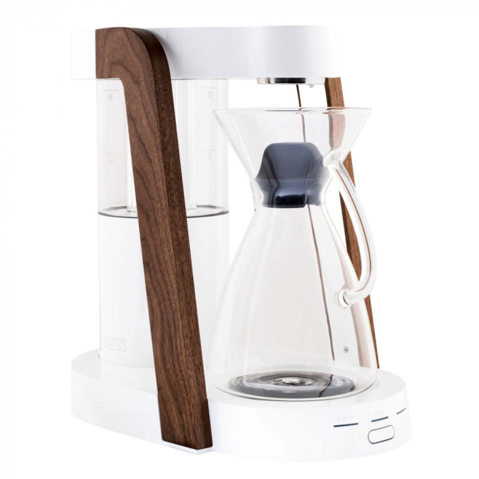 "Filter coffee maker Ratio ""Eight White/Walnut"""