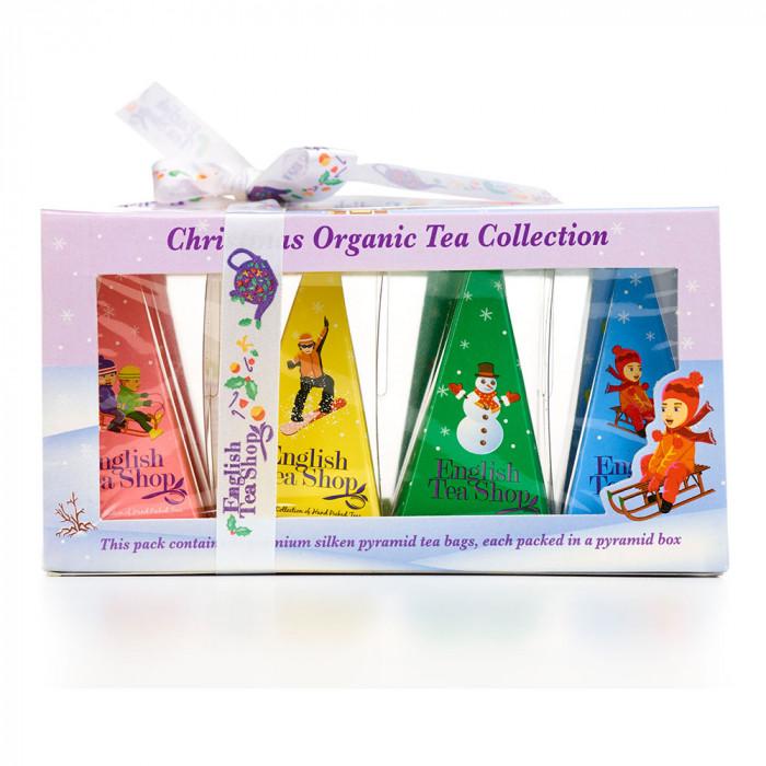"Tee English Tea Shop ""ETS White Christmas Prism – 12ct Pyramid"""