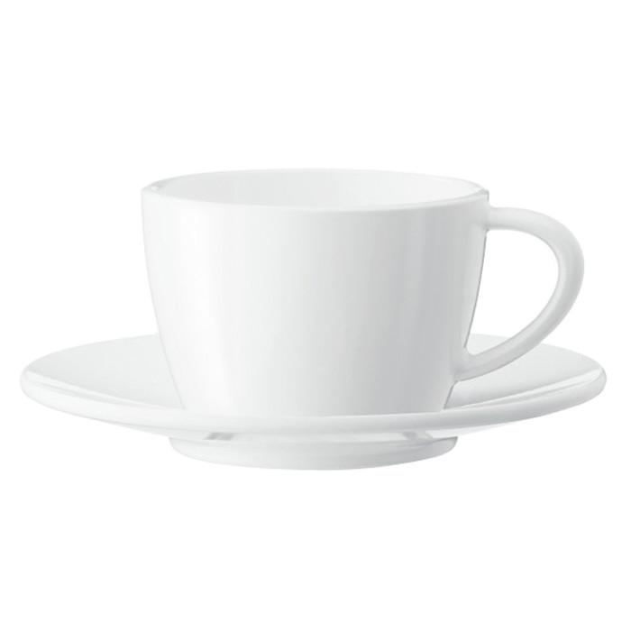 Cappuccino puodelis su lėkštute JURA