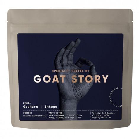 """Specialty coffee beans Goat Story """"Rwanda Gasharu Intego"""", 250 g"""
