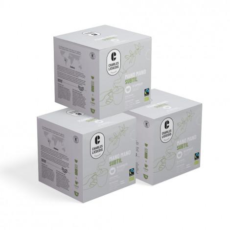 "Kaffeekapseln geeignet für Dolce Gusto®-Set Charles Liégeois ""Mano Mano Subtil"", 3 x 16 Stk."