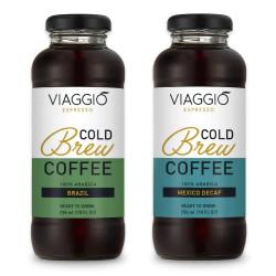 "Kalt gebrühter Kaffee Viaggio Espresso ""Cold Brew Brazil + Mexico Decaffeinato"", 592 ml"