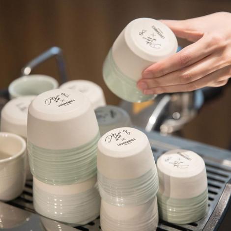 """Puodelis Loveramics """"Dale Harris Champions Signature (Celadon Blue)"""", Espresso, 80 ml"""