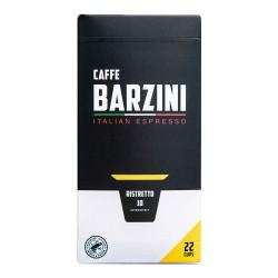 """Coffee capsules compatible with Nespresso® Caffe Barzini """"Ristretto"""", 22 pcs."""
