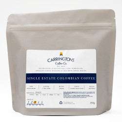 "Ground coffee Carringtons Coffee Co. ""Colombia Single Estate"", 2×250 g"