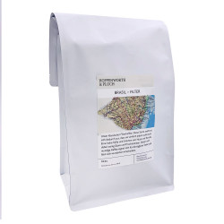"Kaffeebohnen Hoppenworth & Ploch  Kaffeerösterei ""Brasil Filter"" 1 kg"