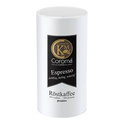 """Gemahlener Kaffee Coroma Kaffeemanufaktur """"kräftig, deftig, würzig Espresso"""", 500 g"""