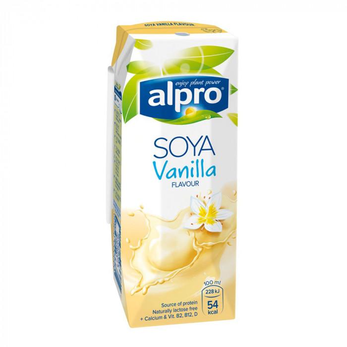 """Vanilinis sojų gėrimas Alpro """"Soya Vanilla"""", 250 ml"""