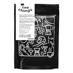 """Coffee beans Two Chimps """"There's a Chimp in my Kitchen"""", 250 g"""