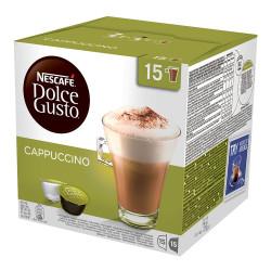 """Kavos kapsulės NESCAFÉ Dolce Gusto """"Cappuccino"""", 15×15 vnt."""
