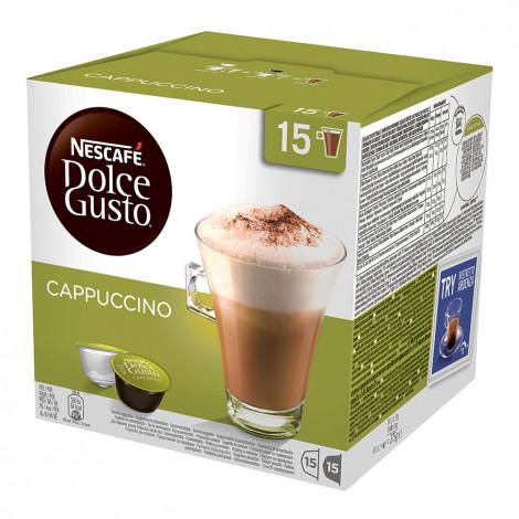 """Kawa w kapsułkach NESCAFÉ Dolce Gusto """"Cappuccino"""", 15+15 szt."""
