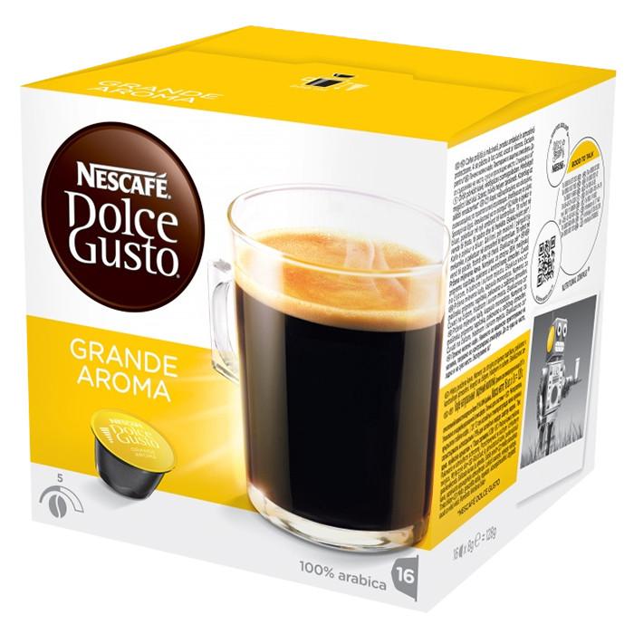 "Kafijas kapsulas NESCAFÉ Dolce Gusto ""Grande Aroma"""
