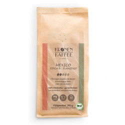 "Kaffeebohnen Kronen Kaffee ""Bio Mexico Finca El Flamingo"" 250 g"