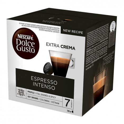 """Kafijas kapsulas NESCAFÉ Dolce Gusto """"Espresso Intenso"""", 16 gab."""