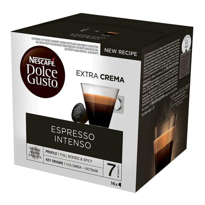 "Kahvikapselit NESCAFÉ Dolce Gusto ""Espresso Intenso"", 16 kpl."