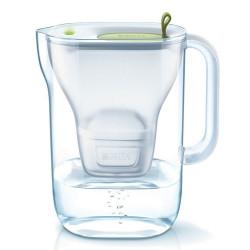 Кувшин для фильтрации воды Brita «Style LED4W Mx+ Lime», 2400 мл