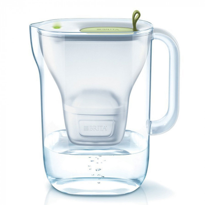 "Vedensuodatin kannu Brita ""Style LED4W Mx+ Lime"", 2400 ml"