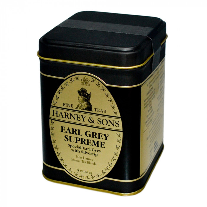 "Aromaatne must purutee Harney & Sons ""Earl Grey Supreme"", 113 g"