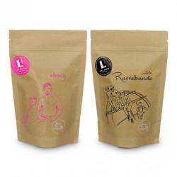 "Kaffeebohnen-Set ""Life & Coffee ESPRESSO Set"", 2 x 1 kg"