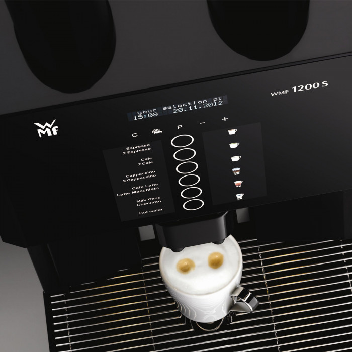 coffee machine wmf 1200 s the coffee mate. Black Bedroom Furniture Sets. Home Design Ideas