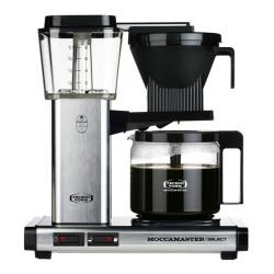 "Filterkaffeemaschine Moccamaster ""KBG 741 Select Silver Brushed"""
