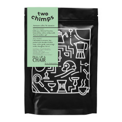 """Coffee beans Two Chimps """"Pull up a Chair"""", 250 g"""