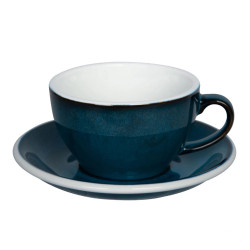 """Cappuccino cup with a saucer Loveramics """"Egg Night Sky"""", 200 ml"""