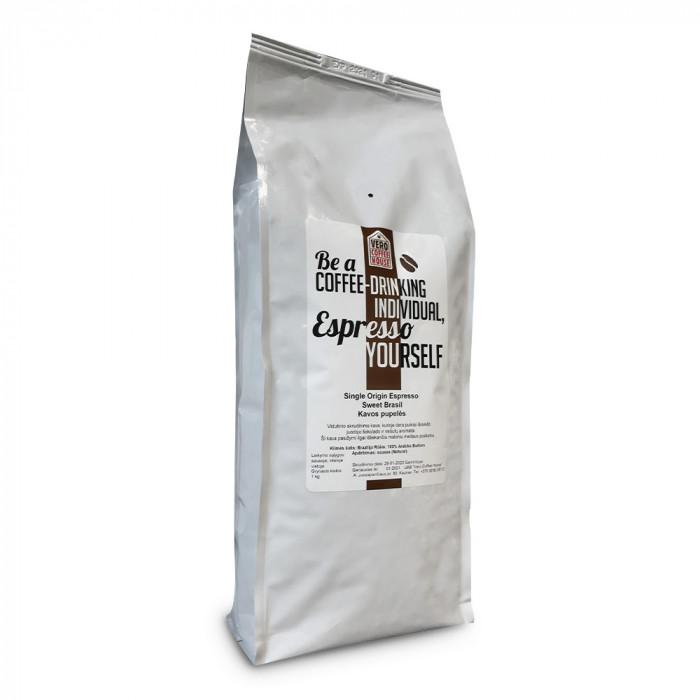 "Kavos pupelės Vero Coffee House ""Sweet Brazil"", 1 kg"