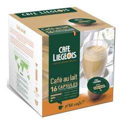 """Kohvikapslid Café Liégeois """"Café au lait"""", 16 tk."""