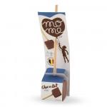 """Kuum šokolaad MoMe """"Flowpack Milk"""", 40 g"""