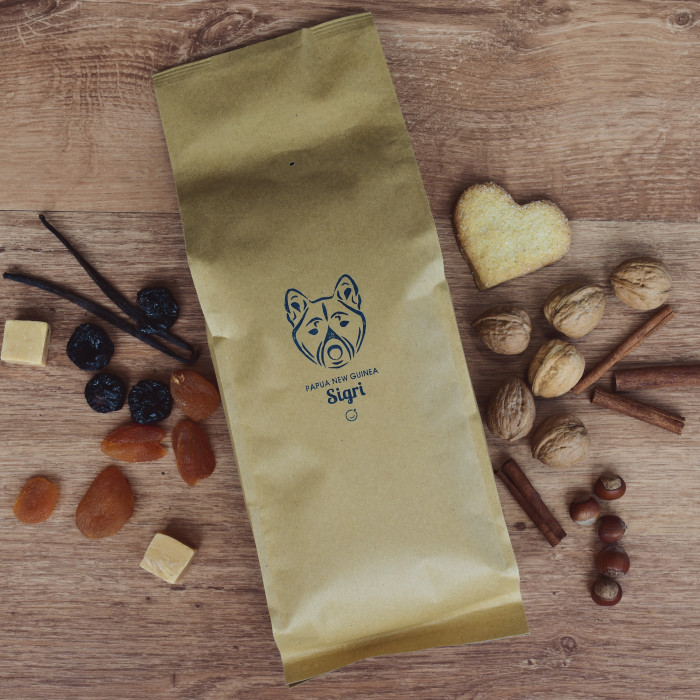 "KahviKaveri kahvipavut ""Papua New Guinea Sigri"", 1 kg"