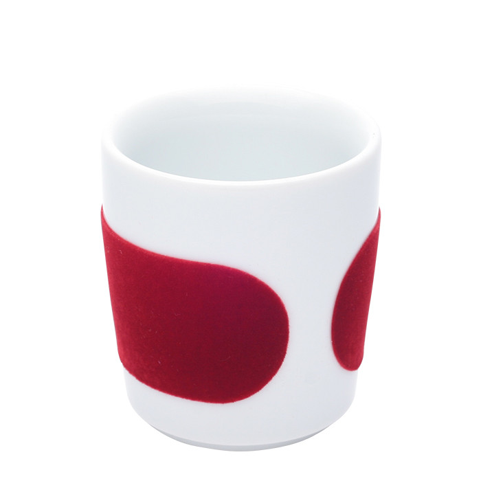 "Espresso Tasse Kahla ""Five Senses touch! Red"", 90 ml"