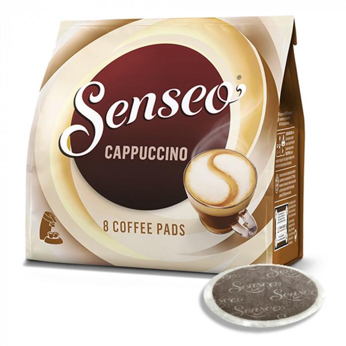 "Senseo kafijas spilventiņi Jacobs-Douwe Egberts LT ""Cappuccino"", 8 gab."