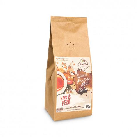 """Jahvatatud kohv Kavos Gurmanai """"Peru EP1"""", 250 g"""