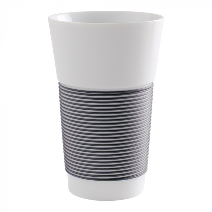 "Coffee cup Kahla ""Cupit to-go Anthracite"", 470 ml"