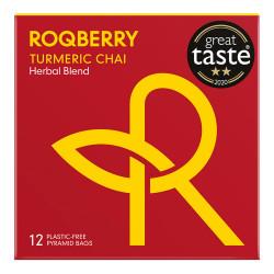 "Herbata Roqberry ""Turmeric Chai"", 12 szt."