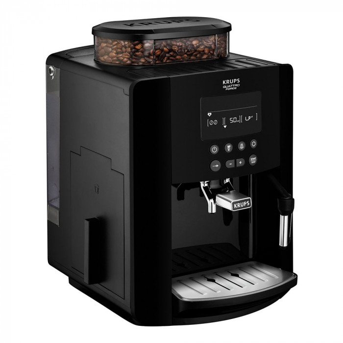 coffee machine krups arabica ea817040 the coffee mate. Black Bedroom Furniture Sets. Home Design Ideas