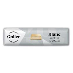 "Šokolādes batoniņš Galler ""White Cointreau"", 70 g"