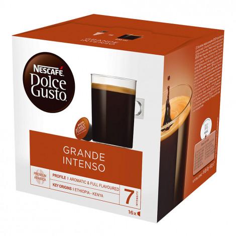 "Kavos kapsulės NESCAFÉ Dolce Gusto ""Grande Intenso"", 16 vnt."