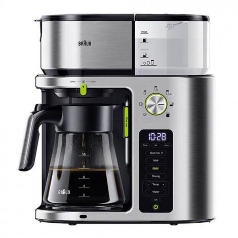 """Ekspozīcijas filtru kafijas automats Braun """"KF9170SI"""""""