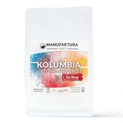 "Kawa ziarnista Manufaktura Kawy ""Colombia Finca Los Alpes Red Honey"", 1 kg"