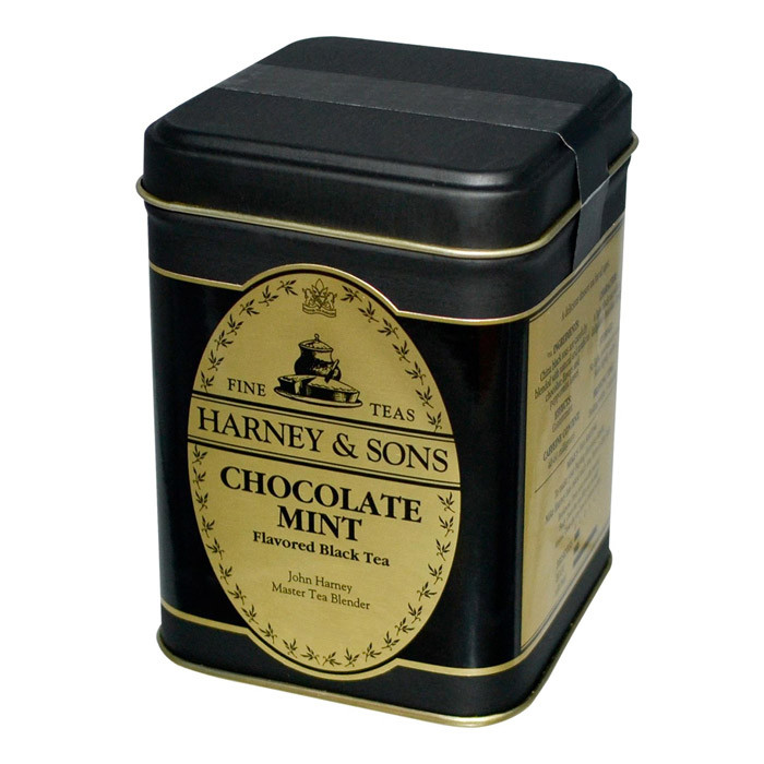 "Aromaatne must purutee Harney & Sons ""CHOCOLATE MINT"""