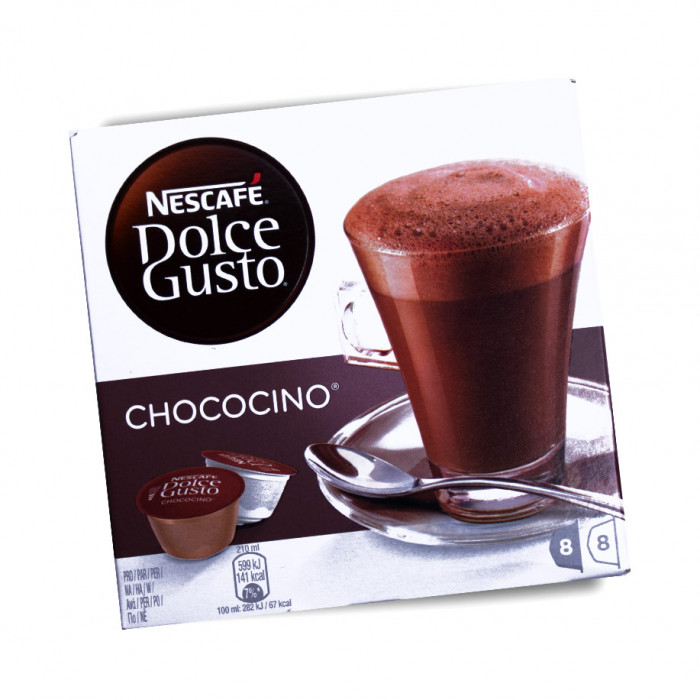 """Kapsulės NESCAFÉ Dolce Gusto """"Chococino"""", 8×8 vnt."""
