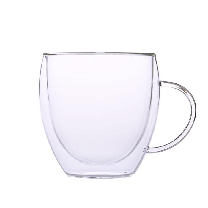 Kavos Draugo Cappuccino stiklinė, 240 ml