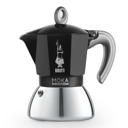 "Kavavirė Bialetti ""New Moka Induction 4-cup Black"""