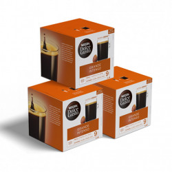 """Coffee capsules compatible with Dolce Gusto® set NESCAFÉ Dolce Gusto """"Grande Intenso"""", 3 x 16 pcs."""