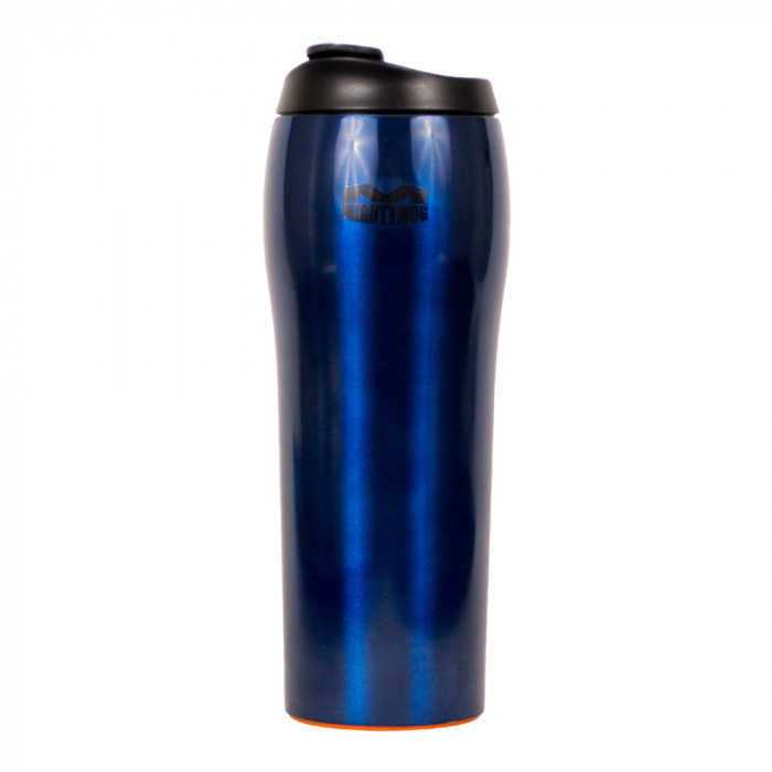 "Thermo cup The Mighty Mug ""Go Stainless Steel Blue"""