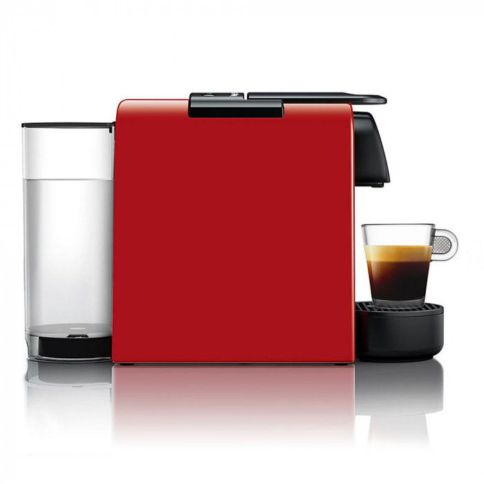 "Kavos aparatas Nespresso ""Essenza Mini Triangle Red"""