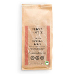 """Kaffeebohnen Kronen Kaffee """"Bio Peru Especial """" 250 g"""