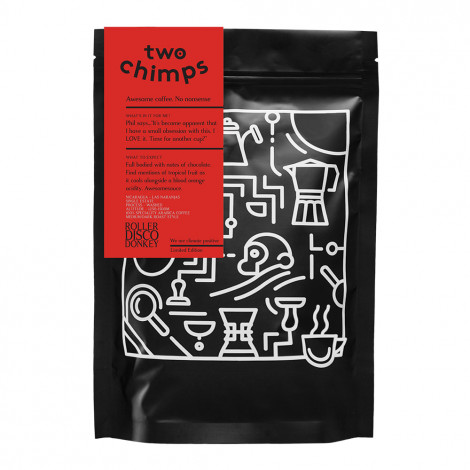 """Coffee beans Two Chimps """"Roller Disco Donkey"""", 250 g"""